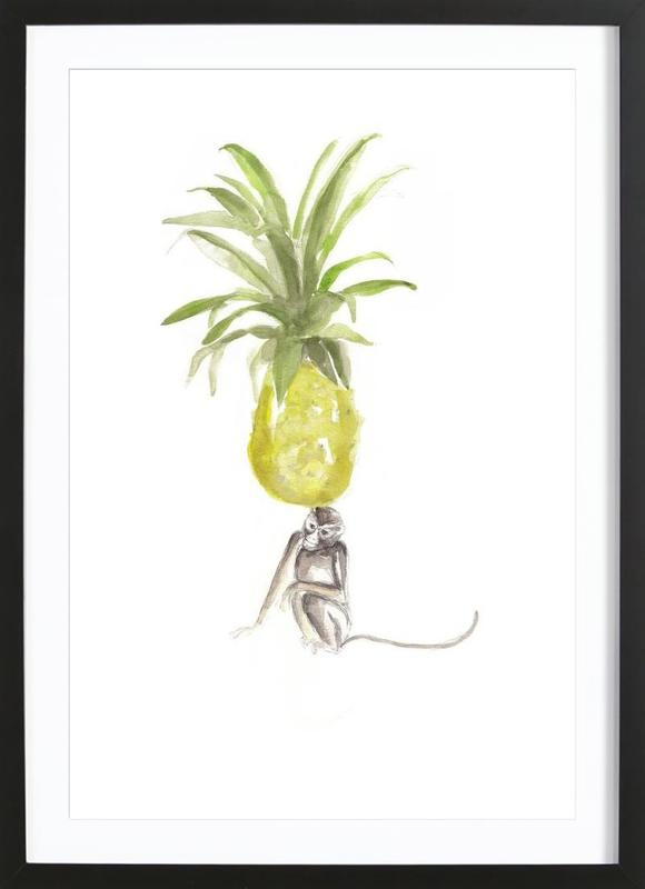 It´s Just A Pineapple Framed Print