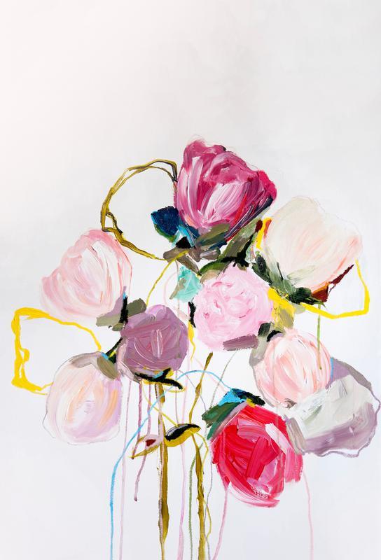 Bloom 0709 tableau en verre