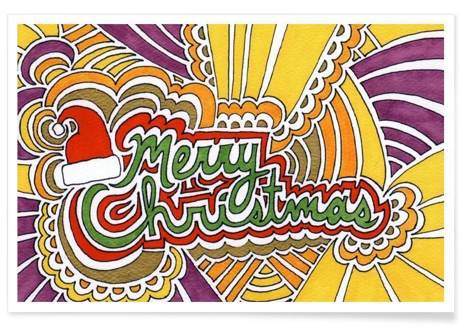 Holiday Drawing 3 Poster
