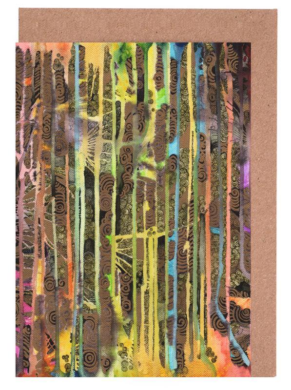Rainbow Forest Grußkartenset