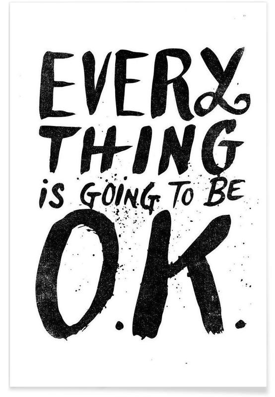 everything is going to be o.k. Poster