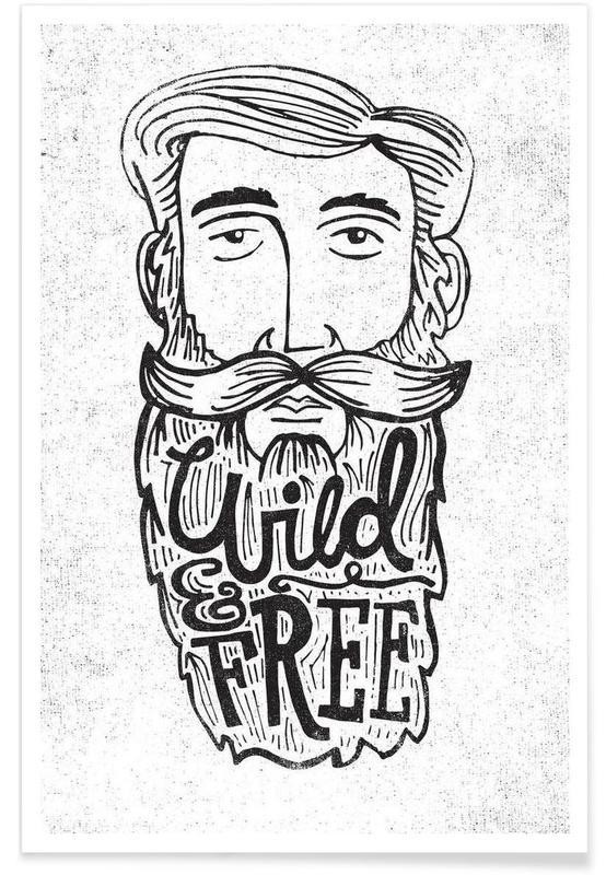wild & free Poster