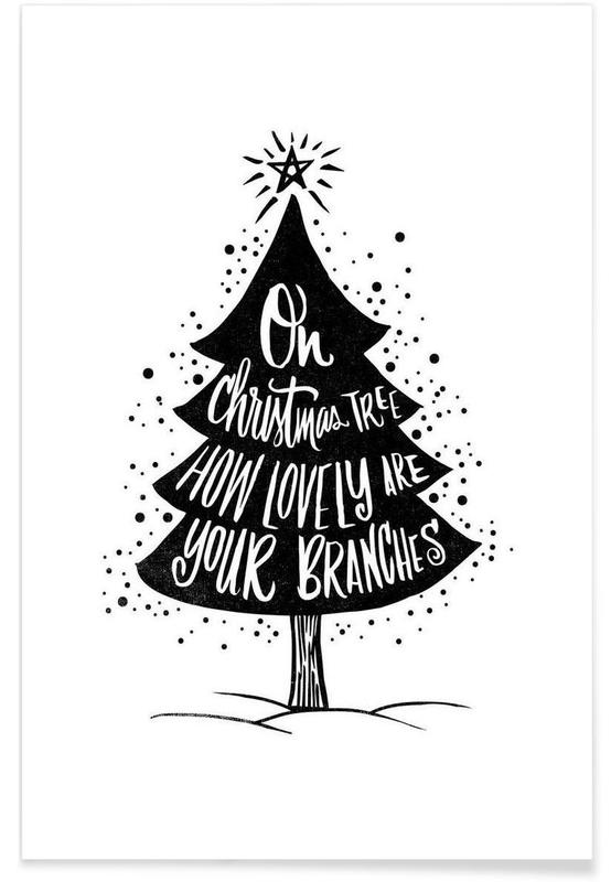 Oh Christmas Tree Poster