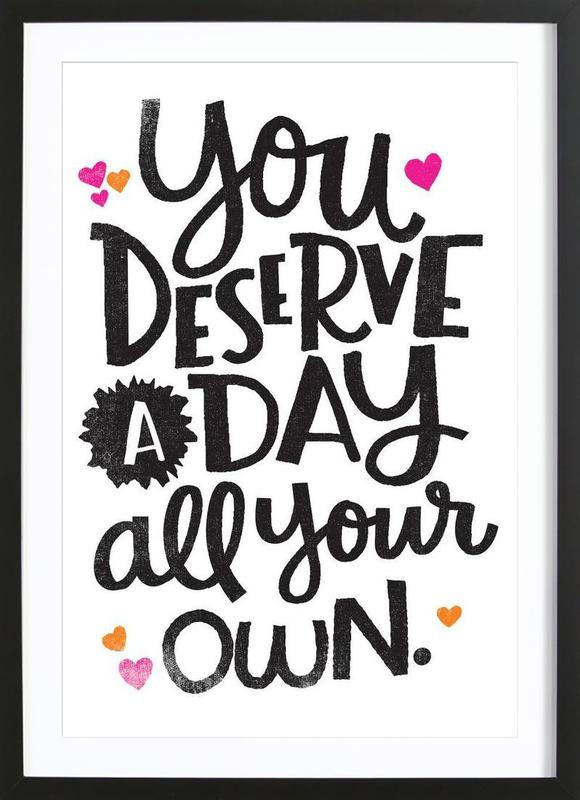 A Day Your Own Framed Print