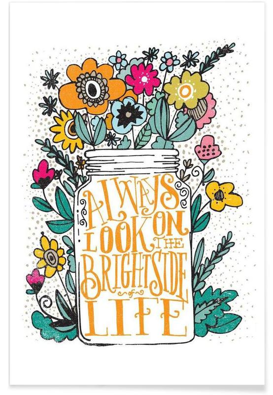 always look on the bright side Poster