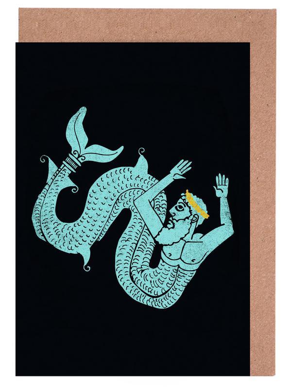 Neptune Grußkartenset | Dekoration > Accessoires