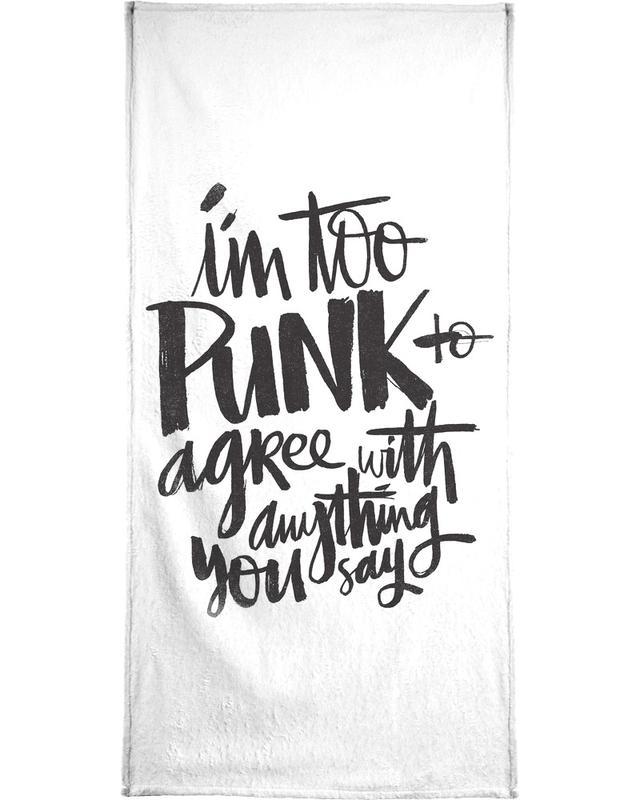 Punk -Handtuch