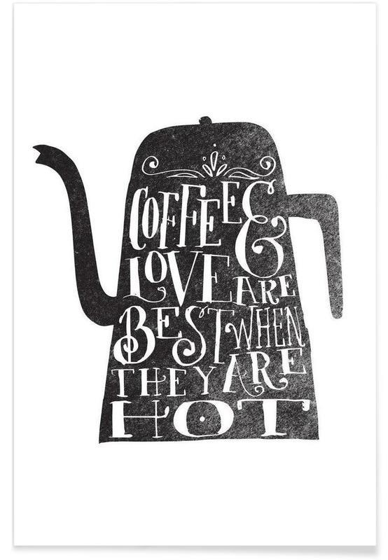 coffee & love affiche