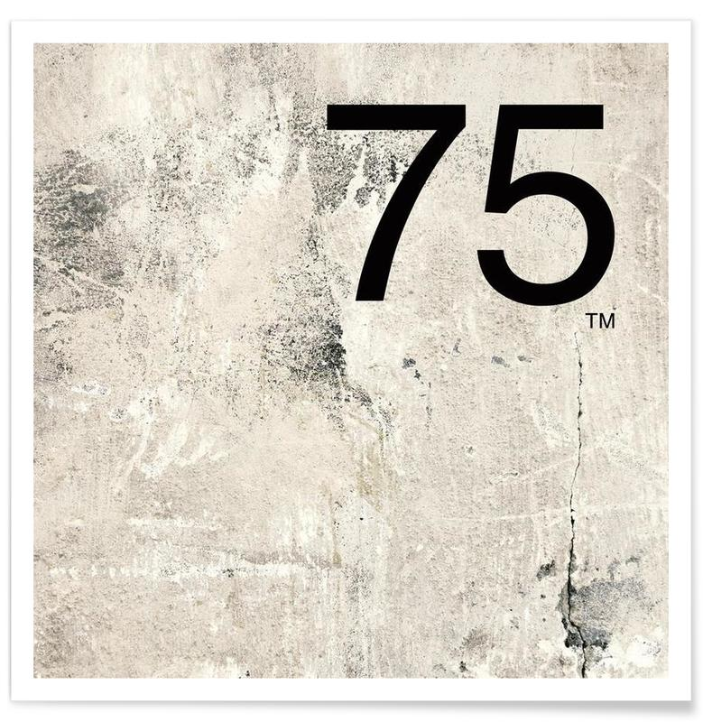 75. Helvetica -Poster