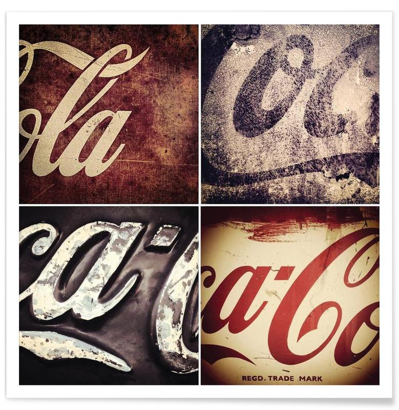 4 Cokes Poster Poster