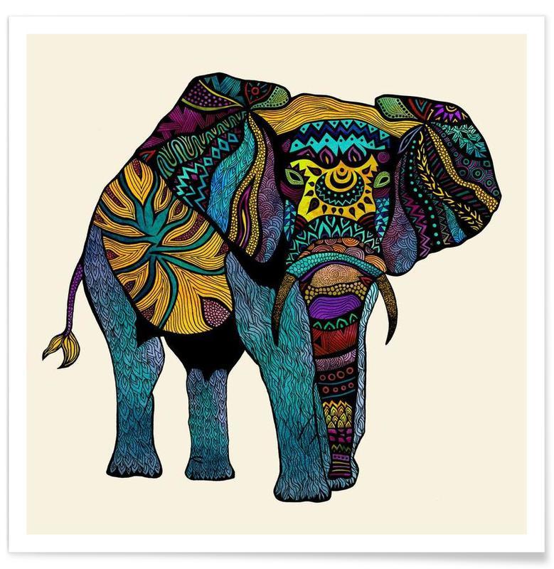 Elephant of Namibia affiche