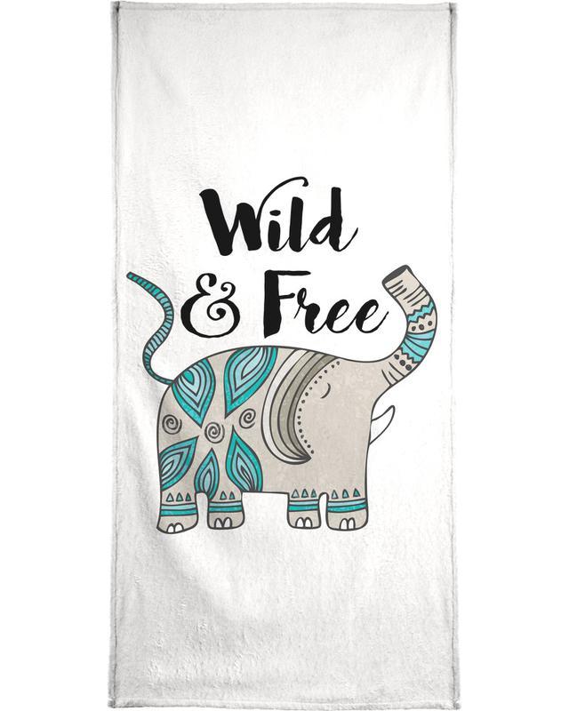 Wild And Free Bath Towel