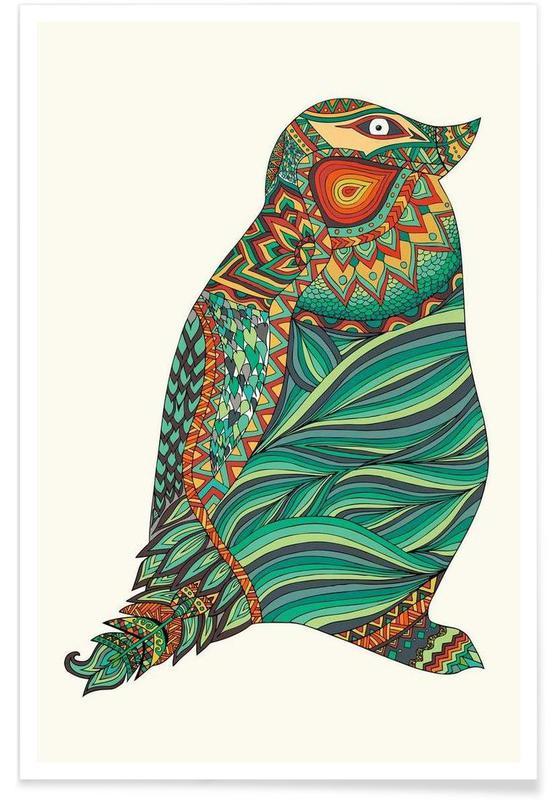 Ethnic Penguin poster