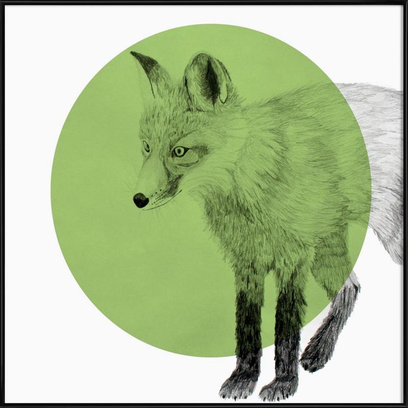 Fox Gerahmtes Poster | Dekoration > Bilder und Rahmen > Poster | Mehrfarbig