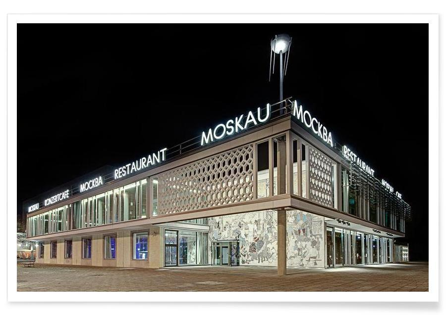 Cafe Moskau No. 1 affiche