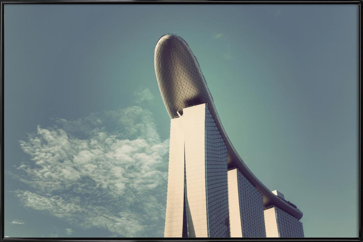 Marina Bay Sands Framed Poster