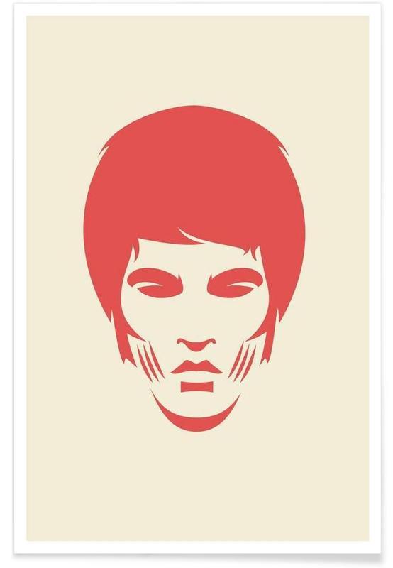 Bruce Lee Minimalist Poster