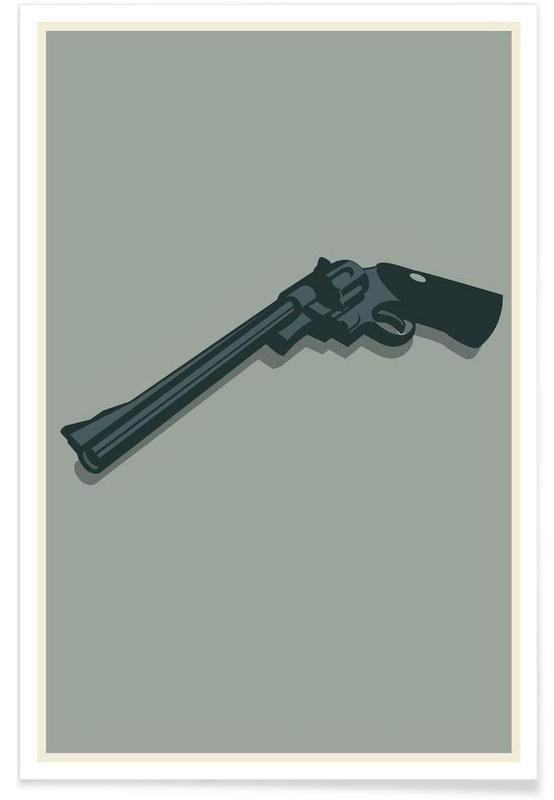 Dirty Harry - minimalistisch poster