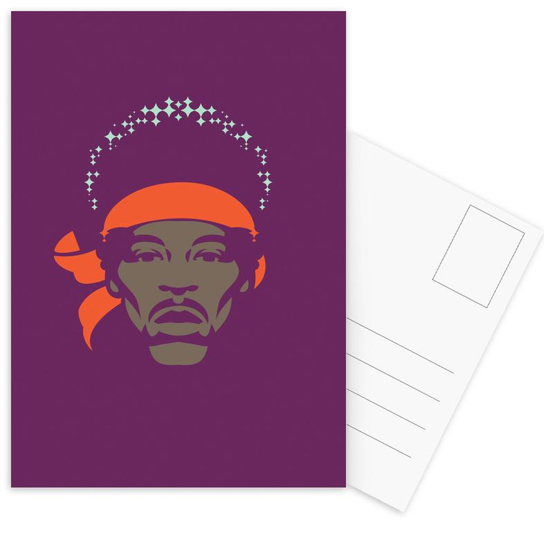 Hendrix Postcard Set