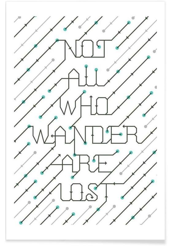 Not All Who Wander affiche