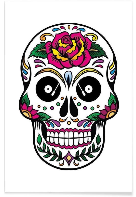 Skull -Poster