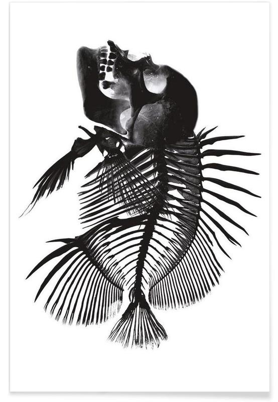 Fishskull poster