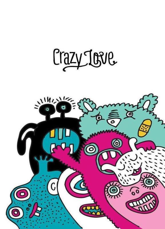 Crazy Love Leinwandbild | Dekoration > Bilder und Rahmen > Bilder