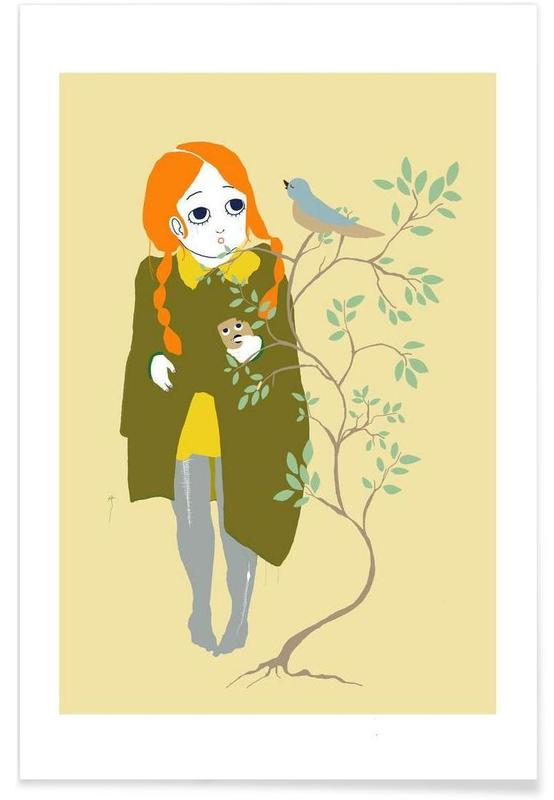 Bird I -Poster