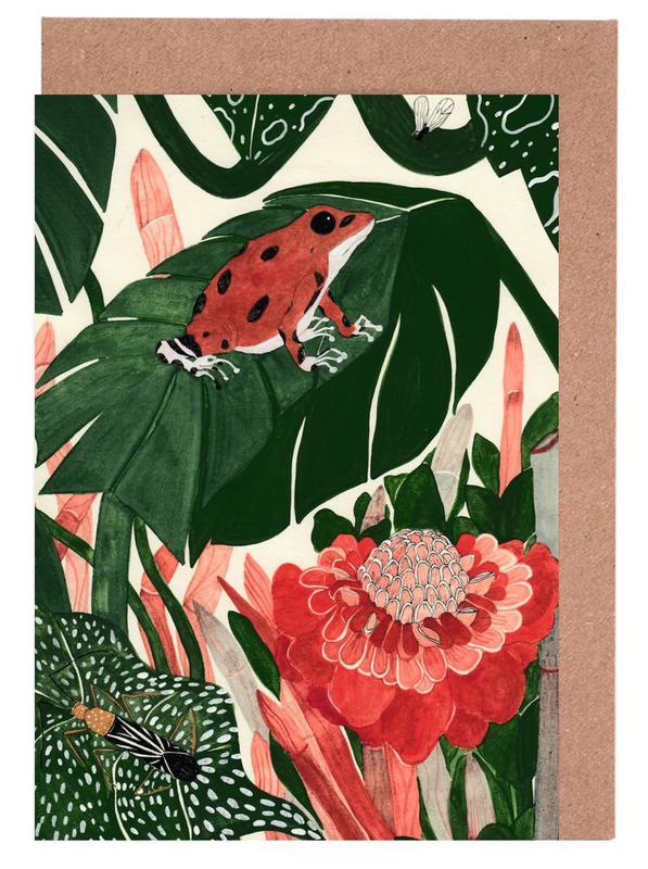 Tropical Greeting Card Set