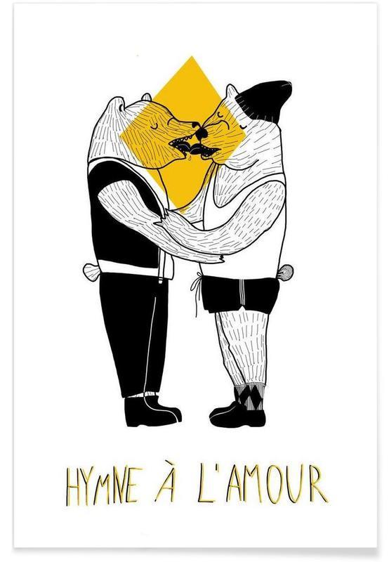 Hymne à l'amour poster