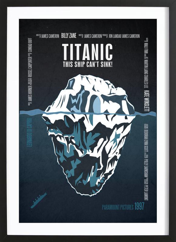 Titanic Premium Poster gerahmt