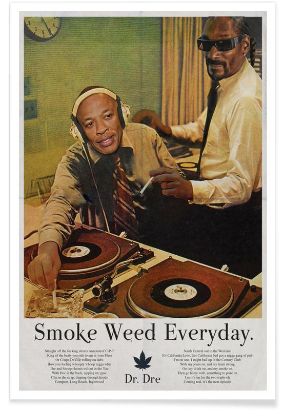 Smoke Weed Every Day -Poster