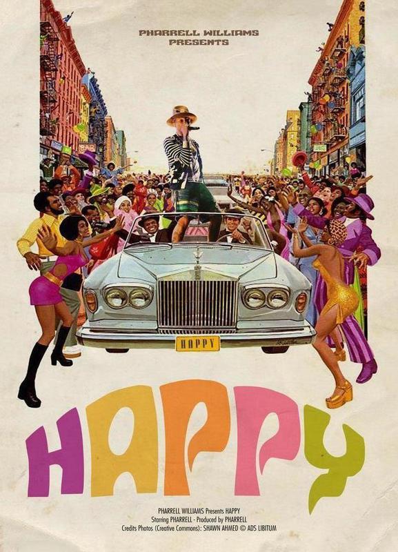 Happy #2 Leinwandbild | Dekoration > Bilder und Rahmen > Bilder | Mehrfarbig | Holz