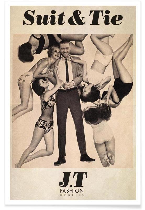 Suit & Tie Poster