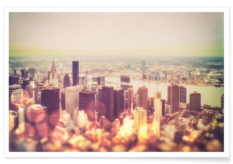 Manhattan's Skyline Poster