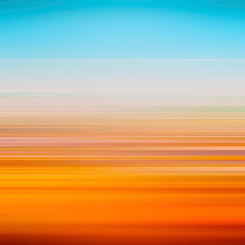 Wavelength Leinwandbild | Dekoration > Bilder und Rahmen > Bilder | Mehrfarbig | Holz