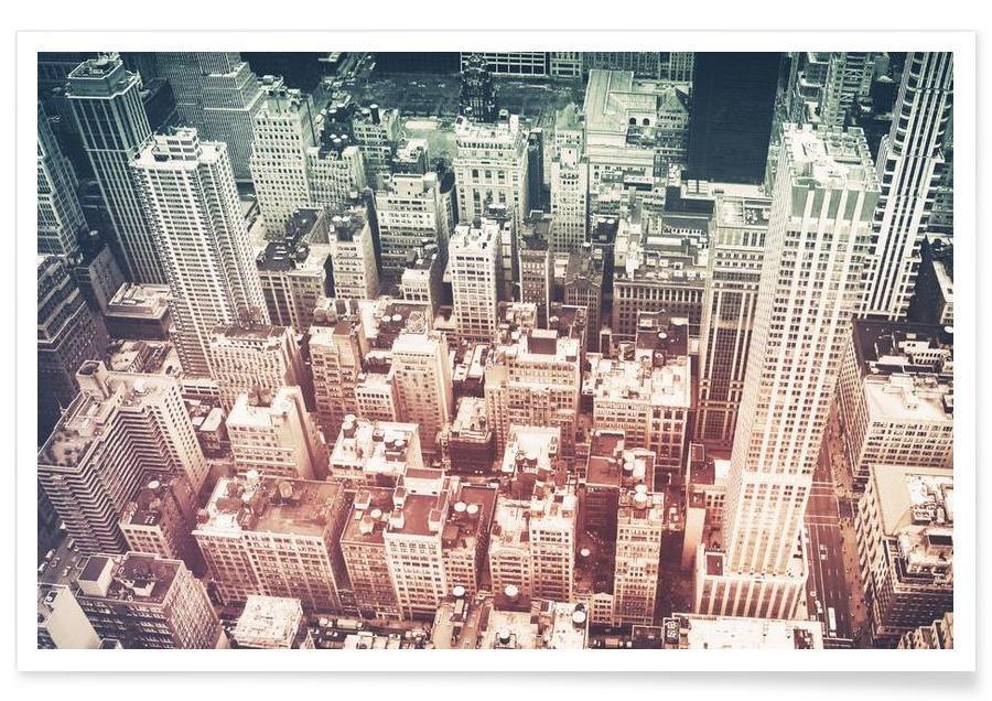 Manhattan's Buildings Poster