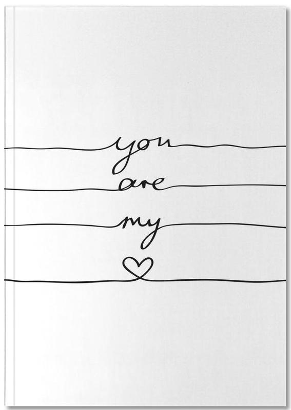 You Are My Heart Notebook