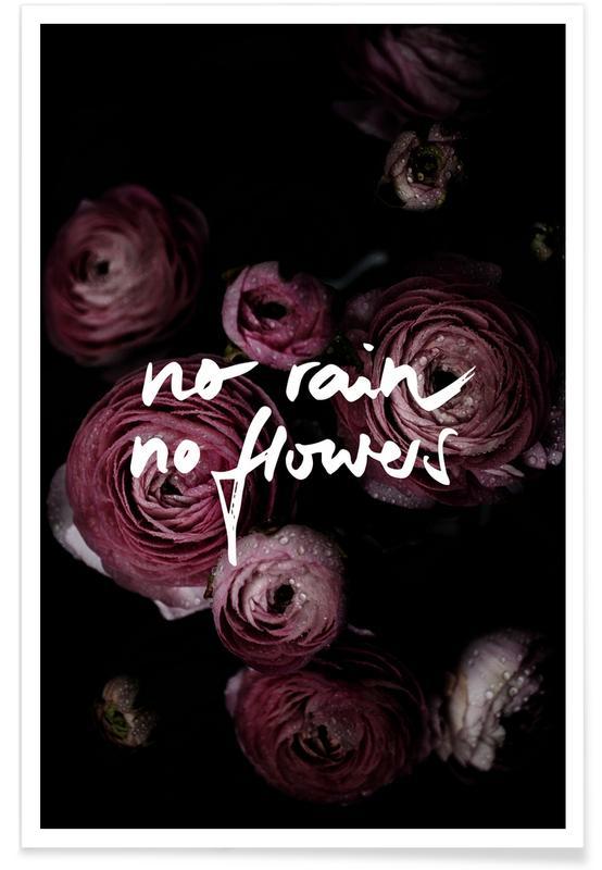 No Rain No Flowers poster