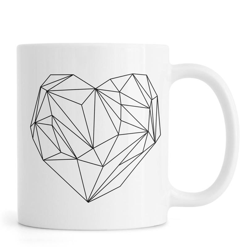 Heart Graphic Mug
