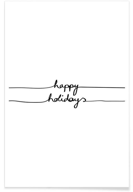 Holidays 1 - Happy Holidays -Poster