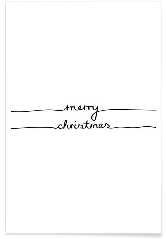 Holidays 1 - Merry Christmas Poster