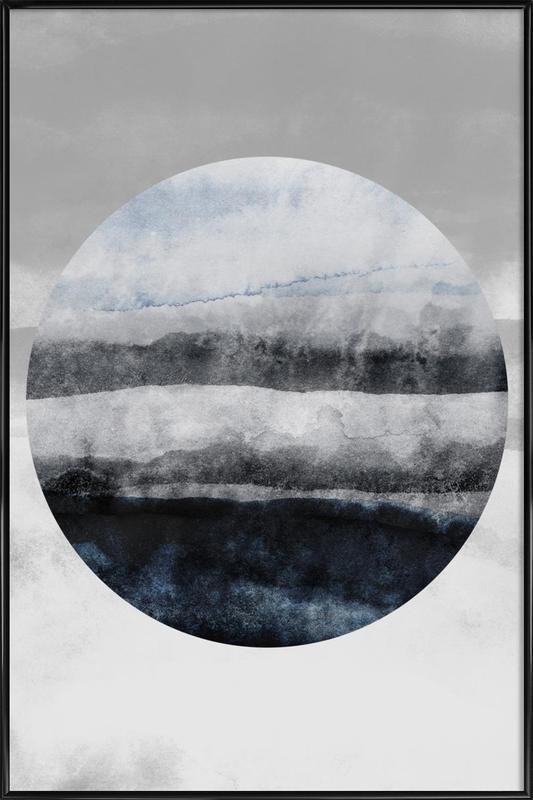 Minimalism 47 -Bild mit Kunststoffrahmen