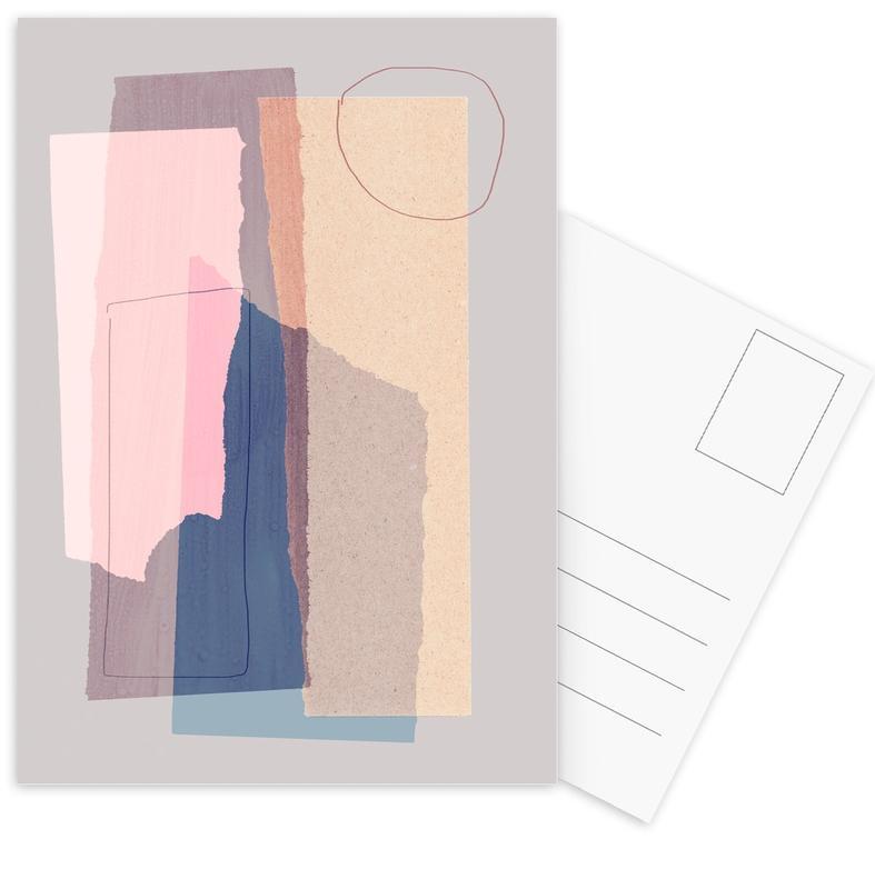 Pieces 5A -Postkartenset