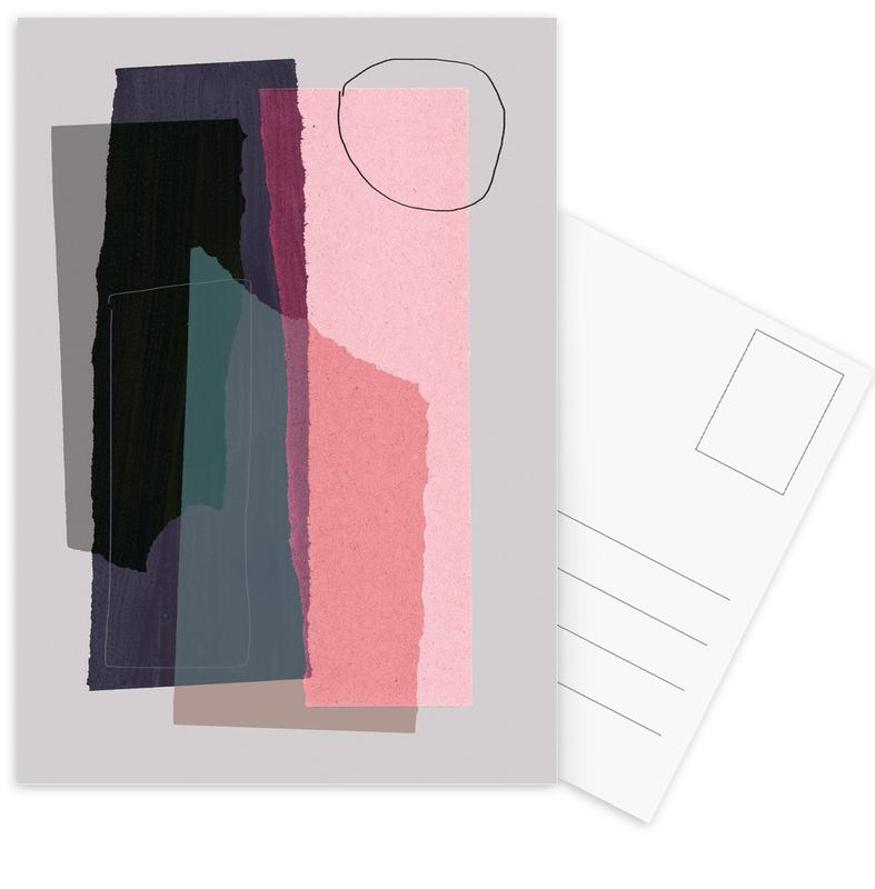 Pieces 5C -Postkartenset