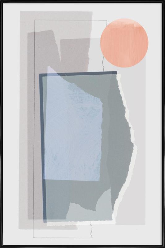 Pieces 10B -Bild mit Kunststoffrahmen