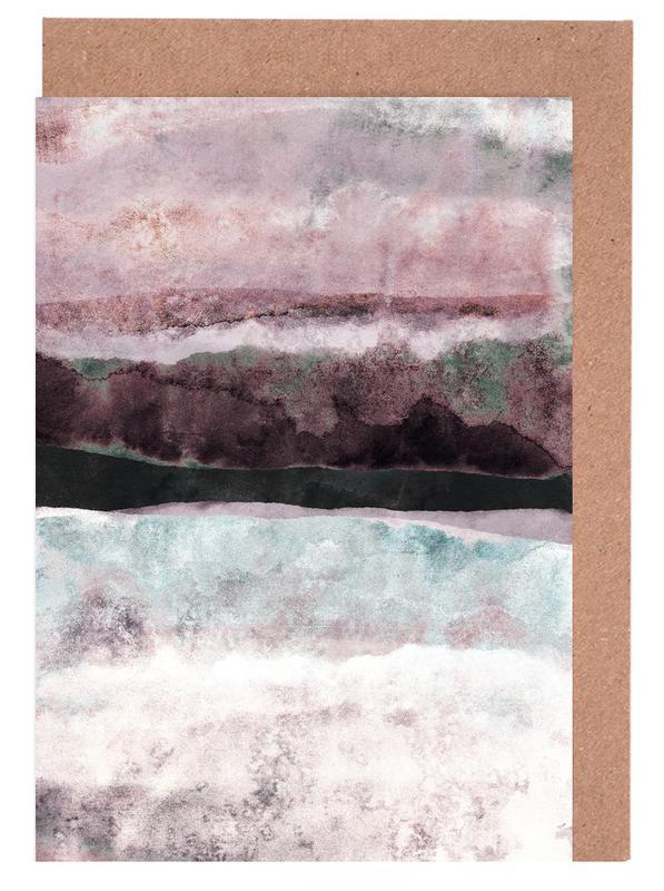 Watercolors 24 -Grußkarten-Set