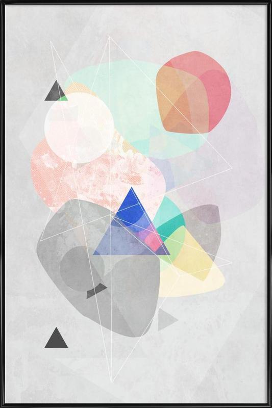 Graphic 170 ingelijste poster