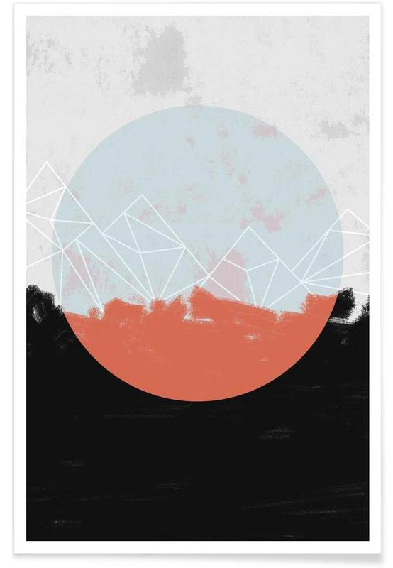 Landscape Abstract Poster