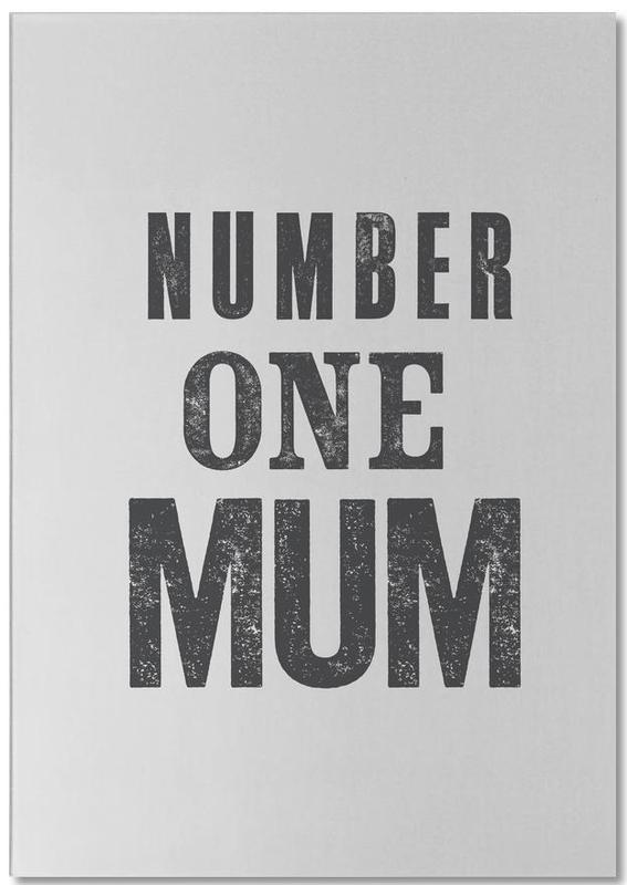 Number One Mum bloc-notes